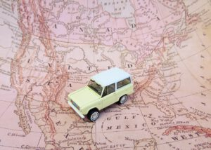 map, car, toy